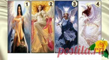 Выберите ангела и узнайте, какие черты характера у вас — Калейдоскоп чудес
