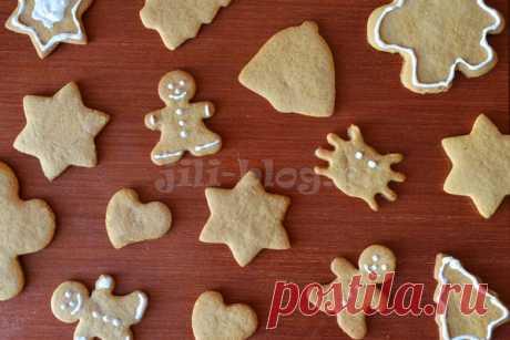 Готовим вместе с детьми (от 3 лет). Имбирное печенье (пряники)   Рецепт – Жили-Были