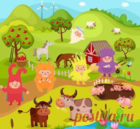 В этой веселой сценке чапики Ума, Пузя, Тёпа и Няша отправятся в маленькое путешествие по сельской местности, в котором встретят различных зверушек и загадают о них загадки зрителям. А малыши смогут отгадать их названия и поучаствовать в интерактиве.