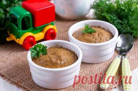 Печеночное суфле для детей: рецепт пошаговый с фото | Меню недели