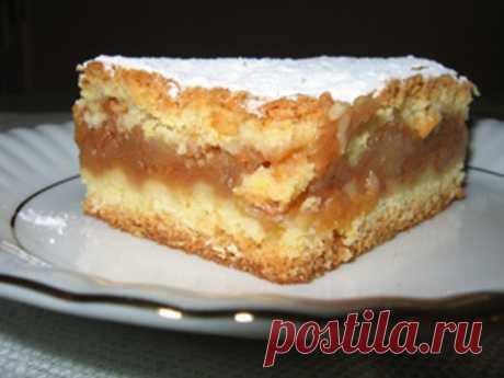 Мой самый лучший пирог. Мягко слоеное тесто и ароматные яблоки