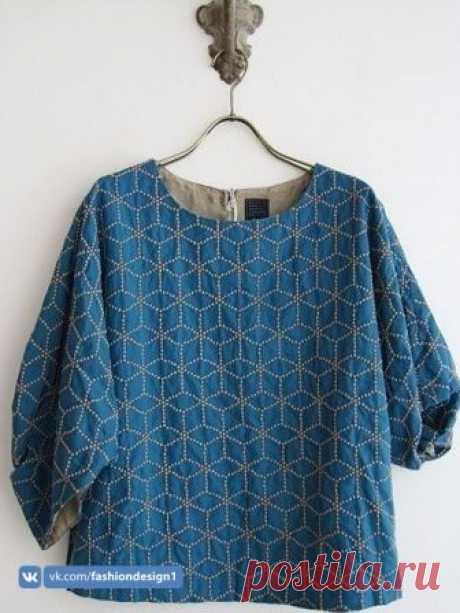 Японская вышивка сашико — Сделай сам, идеи для творчества - DIY Ideas