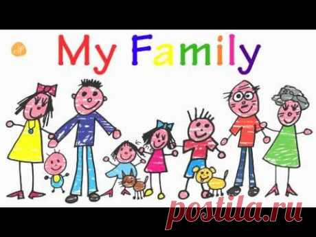 ¡Family Words for Toddlers! - Family Vocabulary - ELF Kids VIdeos