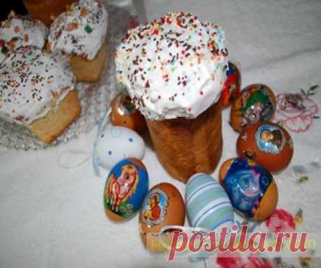 Кулич пасхальный/Сайт с пошаговыми рецептами с фото для тех кто любит готовить