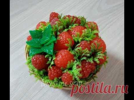 Мыловарение:) Лукошко с ягодами