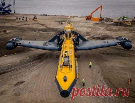 Самая крупная в мире приливная турбина с непревзойденной мощностью – Orbital О2   Наука и технологии