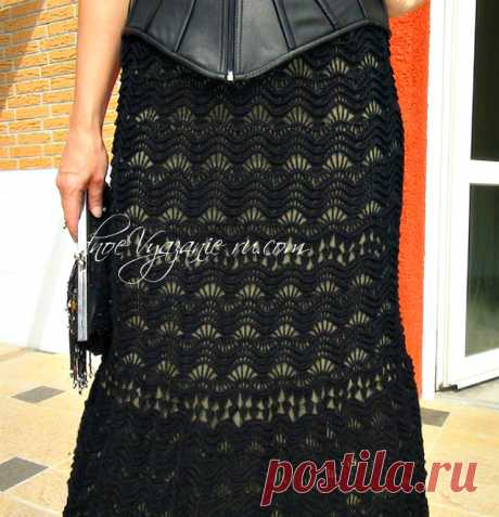 Шикарная юбка *Майорка* связанная крючком - Crochet - Modnoe Vyazanie