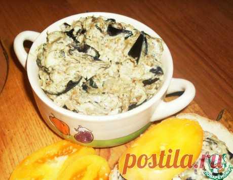 Закуска из баклажанов с плавленым сыром – кулинарный рецепт