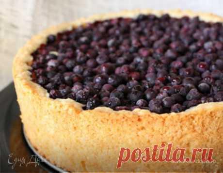 Творожный пирог с ягодами (черника), пошаговый рецепт на 161477 ккал, фото, ингредиенты - Елена
