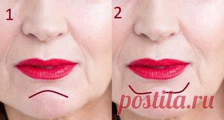 2 штриха в макияже, которые визуально омолаживают нижнюю часть лица (актуально для тех, у кого провисает овал — есть «брыли»)   О макияже СмиКорина   Яндекс Дзен