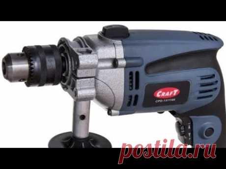 Ремонт Дрель Craft CPD-13/1100 Замена шестерни на дрели Прокручивается патрон