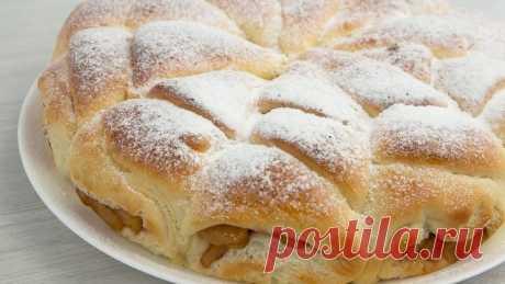 Отрывной Яблочный пирог! Мягкий, воздушный и ароматный!