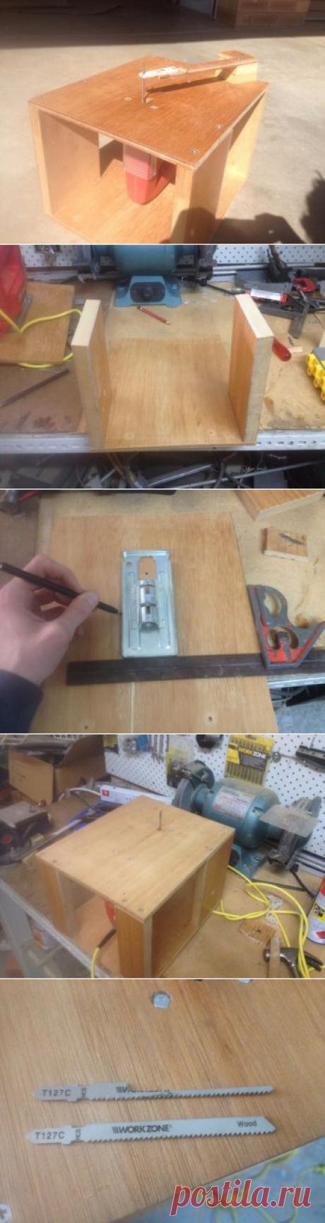 Инструмент своими руками: делаем станок для резки дерева из лобзика — Своими руками