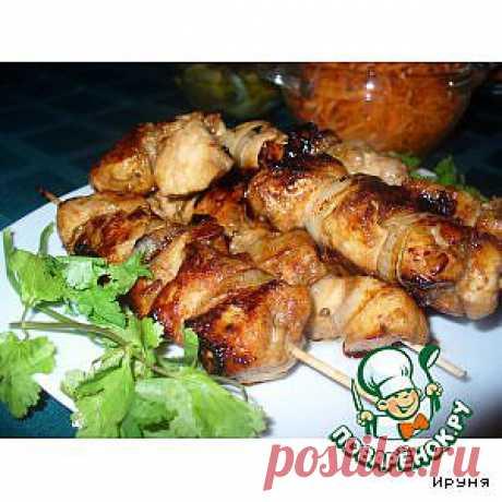 Пикантный куриный шашлычок - кулинарный рецепт