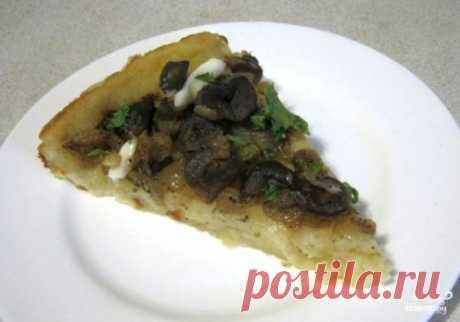 Постный грибной пирог - пошаговый рецепт с фото на Повар.ру