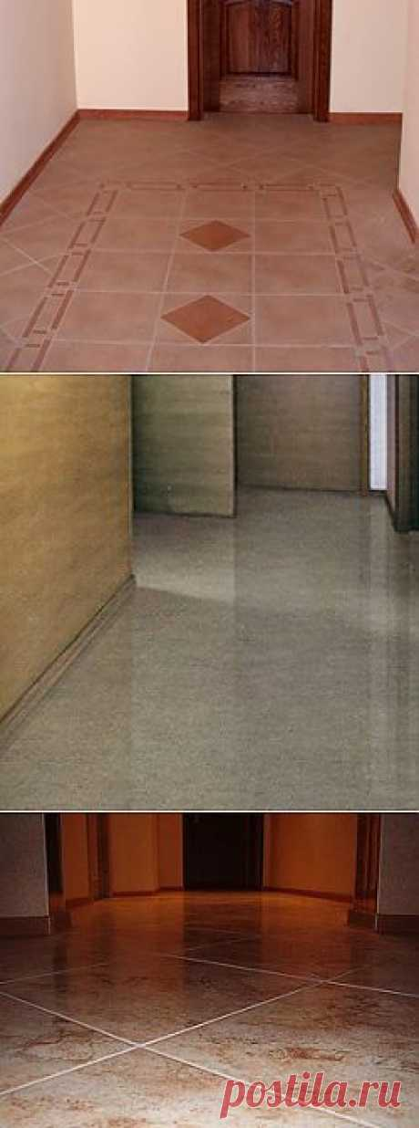 Floor tile for a hall. How to choose a tile for a hall?