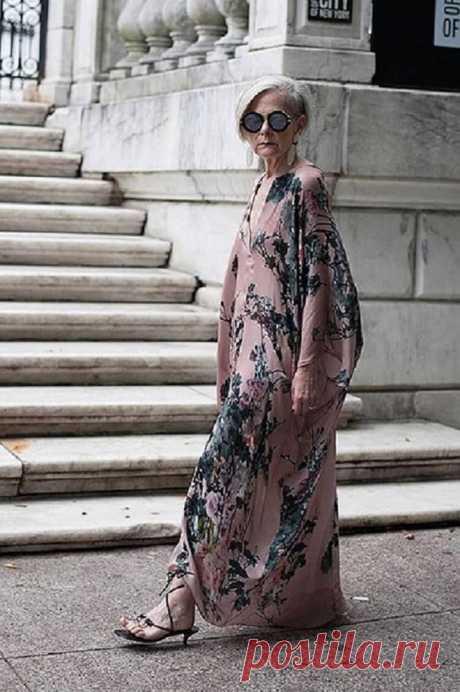 Самая модная бабушка Америки: она не носит косынки — Лист Клевера
