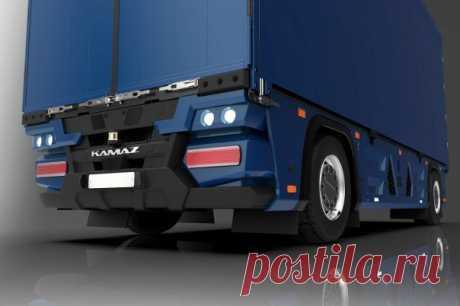 «КАМАЗ» разработал бескабинный грузовик «КАМАЗ» получил патент на электрический беспилотный грузовой автомобиль без кабины для водителя.КАМАЗ-3373, получивший название «Челнок», – это автономный