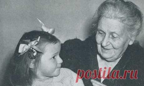 Заповеди Марии Монтессори для родителей   ДОСТОЙНАЯ ЖИЗНЬ НА ПЕНСИИ