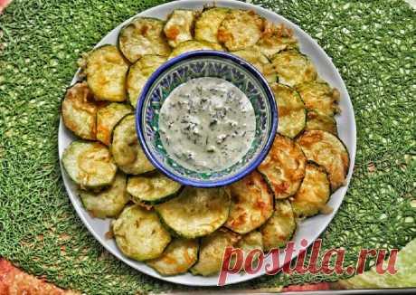 (5) Кабачки в тэмпуре с чесночным соусом - пошаговый рецепт с фото. Автор рецепта наталья власенкова . - Cookpad