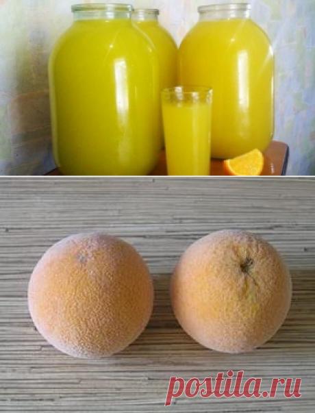 9 литров сока из 4 апельсинов!