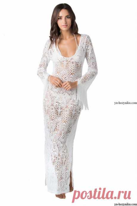 Шикарное платье спицами из мохера. Теплое вязаное платье спицами схемы Шикарное платье спицами из мохера. Теплое вязаное платье спицами схемы