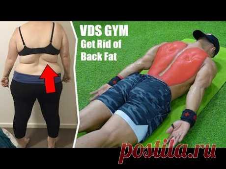 Как избавиться от жира на спине с помощью упражнений »вики полезно Худеем дома