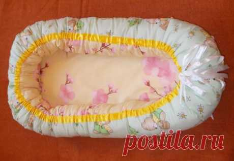 Кокон для новорожденного своими руками: мастер-класс по пошиву уютного гнездышка