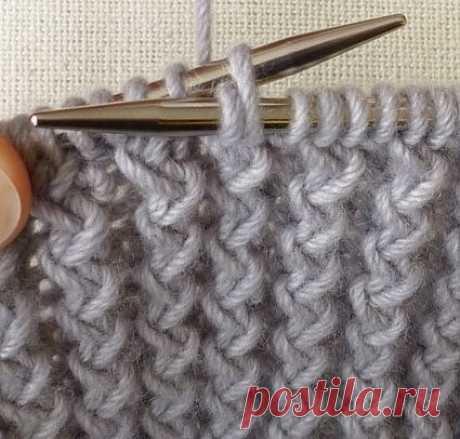 Французская резинка (Вязание спицами) — Журнал Вдохновение Рукодельницы