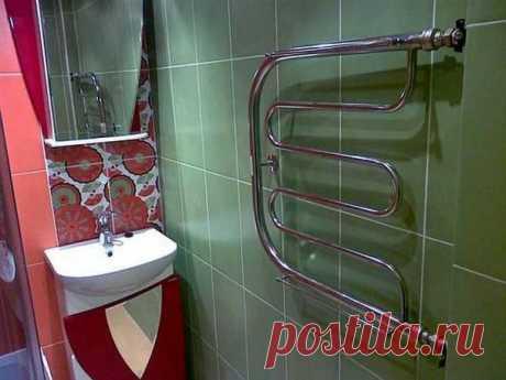 3 ошибки, которые многие совершают при установке полотенцесушителя в ванной
