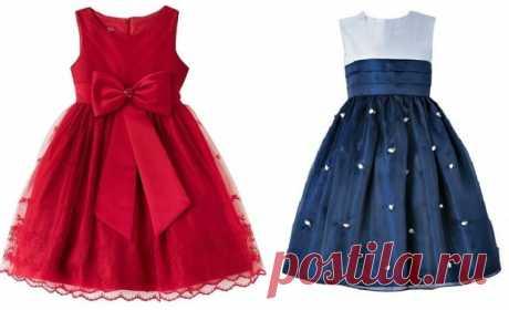Моделируем праздничное детское платье