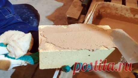 Готовим дешевый огнеупорный раствор для кладки печи или камина