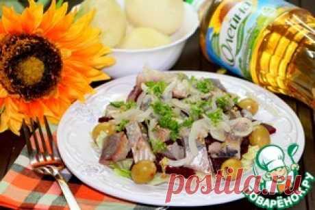 Салат из сельди и свеклы - кулинарный рецепт