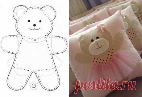4 идеи с эскизами для создания декоративных подушек своими руками | создаем своими руками | Яндекс Дзен