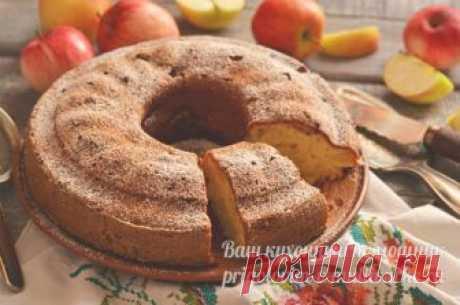Яблочный пирог на кефире: вкуснее шарлотки, но готовить легче