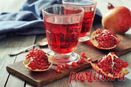 (+1) тема - 10 причин любить гранатовый сок | Среда обитания
