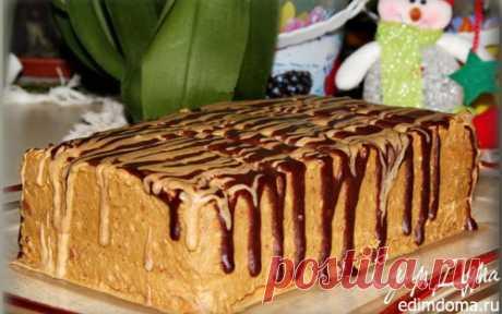 Кофейный тортик без выпечки   Кулинарные рецепты от «Едим дома!»