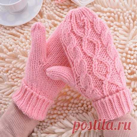 теплые зимние перчатки, Женские варежки, 8 цветов, женские милые вязаные перчатки, подарок для девочек    gloves girl   knitted gloveswinter gloves women  