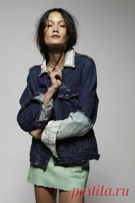 Переделка джинсовки / Курточные переделки / Модный сайт о стильной переделке одежды и интерьера