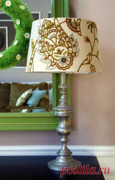 Revamp My Lamp {10 Spray Painted Lamp Ideas} - Refunk My Junk
