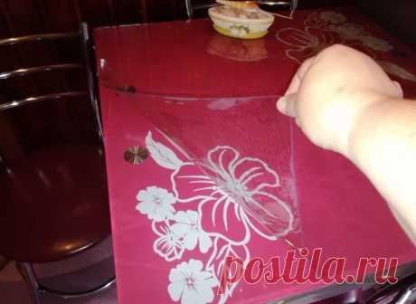 Мягкое стекло 3 в 1 - подарите столу вторую жизнь