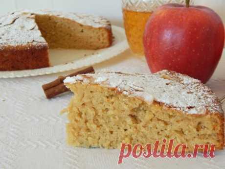 Пирог на яблочном соке — Sloosh – кулинарные рецепты