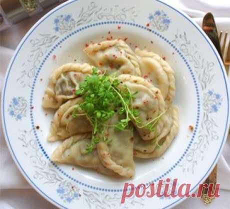 Вареники с фасолью и грибами, второе блюдо. Пошаговый рецепт с фото на Gastronom.ru