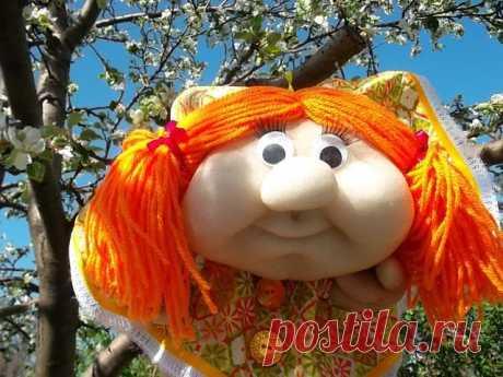 Кукла-попик на удачу.  Мастер класс по ссылке https://www.business-lady.com/ideya_narod_262.php