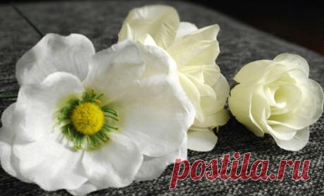 Необычные гипсовые цветы своими руками.Как сделать цветы из гипса