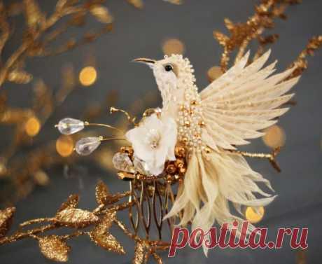 Волшебные творения из шелка, бисера, пайеток и страз
