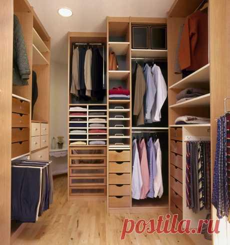 7 правил организации шкафа или гардеробной