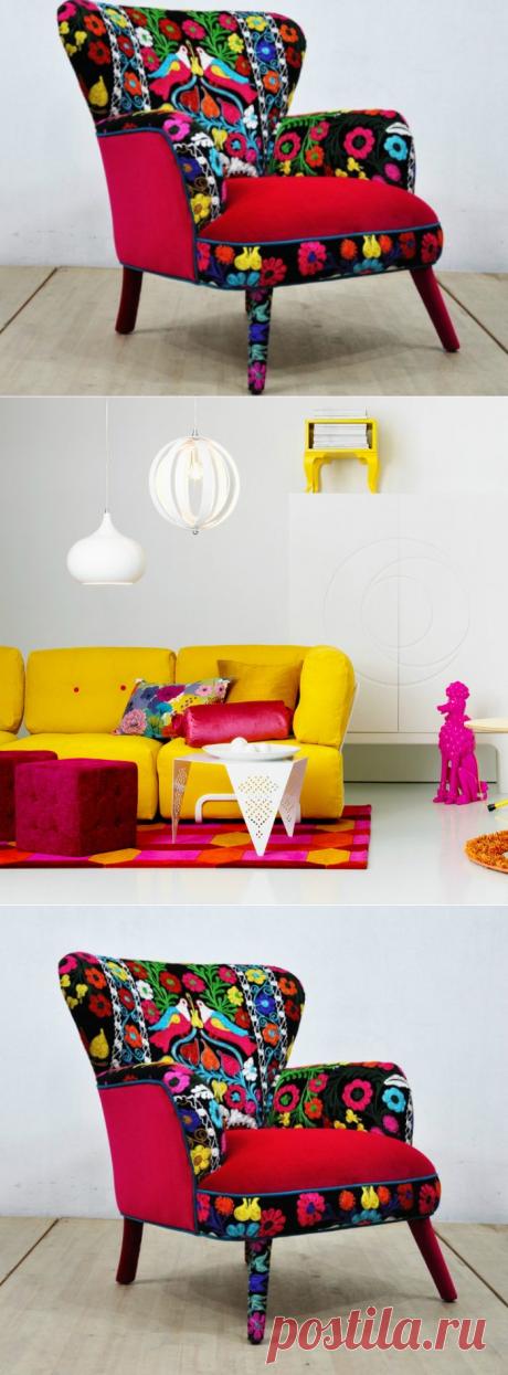 Как сделать так, чтобы старая мебель заиграла новыми красками... Восхитительные идеи перетяжки мягкой мебели!