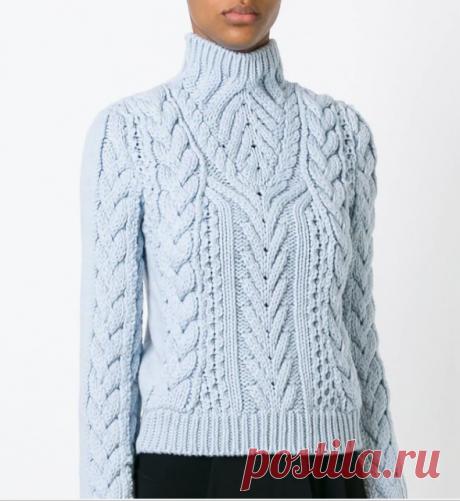Идеи для вязания 10.Дизайнерское, сентябрь 2015.