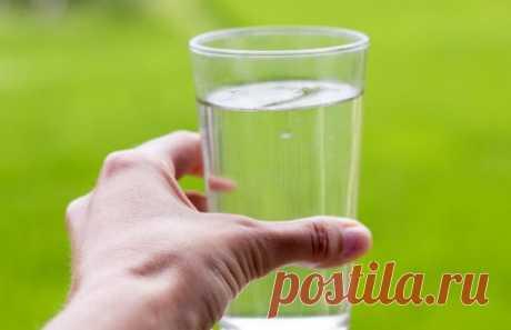 Признаки недостатка воды в организме